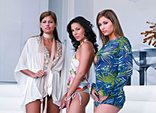 Boroka, Vanessa, Lucky, Regina in Ibiza Sex Party 2