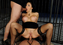 Aletta Ocean in stockings