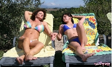 Bikini Fun With Deauxma & Shyla!