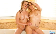 Bath Time With Heather Starlet!