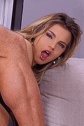 A blonde banged hard in every hole
