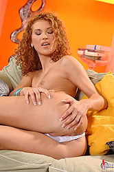 Anna Mary playing with her pussy