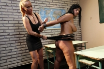 The whore of the class deserve some punishment