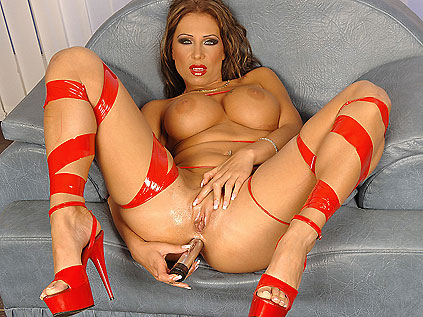 Candy loves to feel a rock-hard dick up in her ass