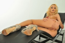 The Blonde Latina loves to be anal fucked hard