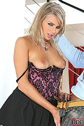 Blonde Karolina fucked very hard