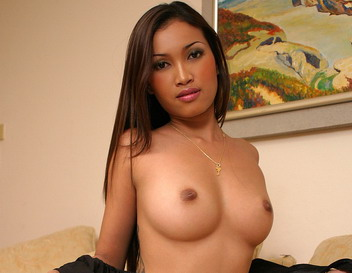 Busty Asian Michelle in pussy-stretching scenes