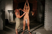 Unluky blonde bitch kidnapped and got dominated