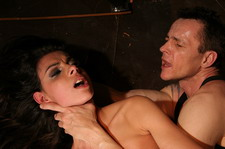 Bettys Franks newest girl in his dungeon of sadism