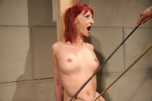 Pain slut redhead Krisztin loves to be controlled