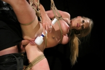 Kira Banks dominated hard by her master Frank Gun