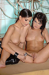Eve Angel & Jeny Baby getting nasty