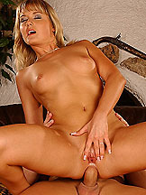 Sexy blonde Niki Montana anal fucked with cumshot