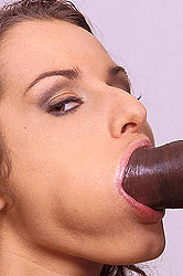 All orifice interracial sex action