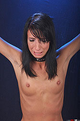 Girl gets bound, beaten & punished