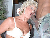 Hot mature enjoy doggy style with her latin lover