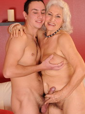 24-year-old youngster fucking with 64-year-old