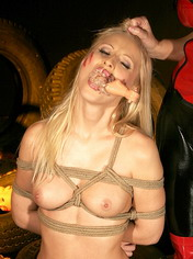 Blond Jasmin is Mistress Mandys favorite plaything