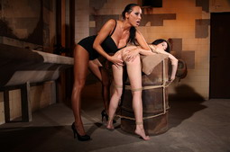 Tied up and left in a basement by her mistress
