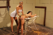 Mandy Bright and Bettina Dicapri in BDSM action