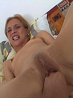 Blonde Missy gets fisting and showering in warm pee