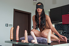 Newcomer Athina stars in her very first boy/girl scene. She gets her pussy fucked and filled with a thick load of semen. Jan-2015 909