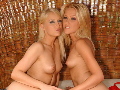 Blonde girlfriends licking each ohers wet pussys
