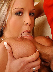 Hot Jessica with huge natural tits gets fuck hard