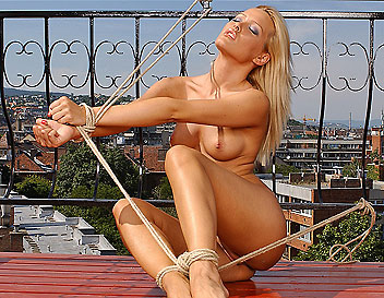 Check out now Sophie Moones wildest bondage set