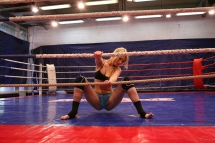 Sweet Sophie Moone fight against the sexy Antonya