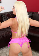 Gorgeous Blonde Britney Amber Getting Off LIVE!