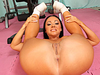 Cherokee - Short girl with delicious body, big tits, round ass gets fucked