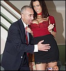 British milf banged in her tight ass by a big senior dick