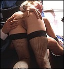 Raunchy street slut shagged hard by this horny office clerk