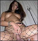 Filling up her dirty wet paid British prostitute pussyhole