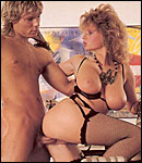 Big titted retro mom loves a big sticky load on her face