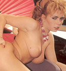 Hairy seventies redhead enjoys cock inside her tight muff