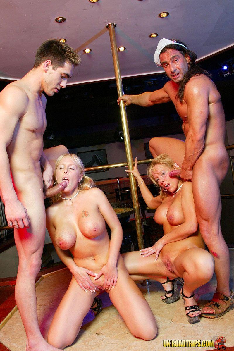 Групповое порно с стриптизерами — 9