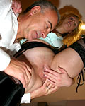 Filthy British bimbo enjoys a rough anal fucking by Jimslip