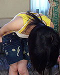 Two horny Japanese girls getting fucked hard by a group