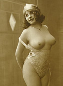 Sexy vintage ladies with big natural breasts getting nude