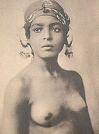 Vintage ethnic girls showing their beautiful sexy nude body