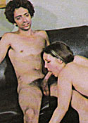Several cute seventies ladies sucking some stiffy cocks