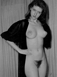 Several sexy vintage babes showing their big puffy nipples