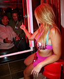 Blonde hooker with nice curves pleasing a horny tourist
