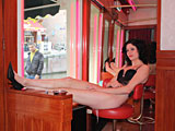 Naughty Amsterdam hooker pleases a horny German tourist