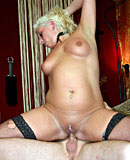 Nasty old mature hooker gets her ass fucked and spunked