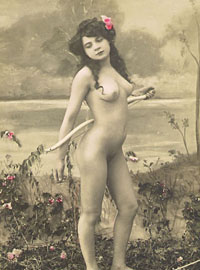 Several vintage girlies showing their hairy tight beavers