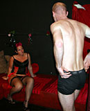 Experienced old hooker pleasing a German tourist his cock
