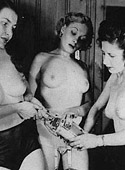 Several naughty vintage lesbians showing their fine bodies